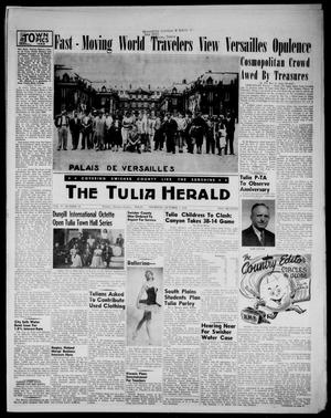 Primary view of object titled 'The Tulia Herald (Tulia, Tex), Vol. 47, No. 40, Ed. 1, Thursday, October 7, 1954'.