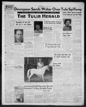 Primary view of object titled 'The Tulia Herald (Tulia, Tex), Vol. 47, No. 22, Ed. 1, Thursday, June 3, 1954'.
