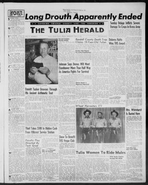 Primary view of object titled 'The Tulia Herald (Tulia, Tex), Vol. 47, No. 21, Ed. 1, Thursday, May 27, 1954'.