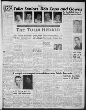 Primary view of object titled 'The Tulia Herald (Tulia, Tex), Vol. 47, No. 20, Ed. 1, Thursday, May 20, 1954'.