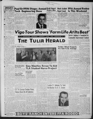 Primary view of object titled 'The Tulia Herald (Tulia, Tex), Vol. 47, No. 16, Ed. 1, Thursday, April 22, 1954'.