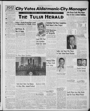The Tulia Herald (Tulia, Tex), Vol. 47, No. 14, Ed. 1, Thursday, April 8, 1954