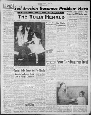 Primary view of object titled 'The Tulia Herald (Tulia, Tex), Vol. 47, No. 12, Ed. 1, Thursday, March 25, 1954'.