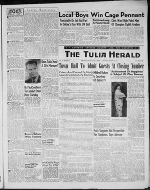 The Tulia Herald (Tulia, Tex), Vol. 47, No. 11, Ed. 1, Thursday, March 18, 1954