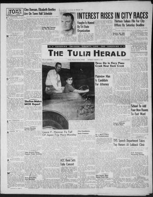 Primary view of object titled 'The Tulia Herald (Tulia, Tex), Vol. 47, No. 10, Ed. 1, Thursday, March 11, 1954'.
