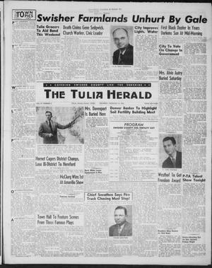 Primary view of object titled 'The Tulia Herald (Tulia, Tex), Vol. 47, No. 8, Ed. 1, Thursday, February 25, 1954'.