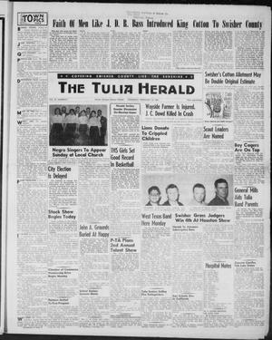 Primary view of object titled 'The Tulia Herald (Tulia, Tex), Vol. 47, No. 7, Ed. 1, Thursday, February 18, 1954'.