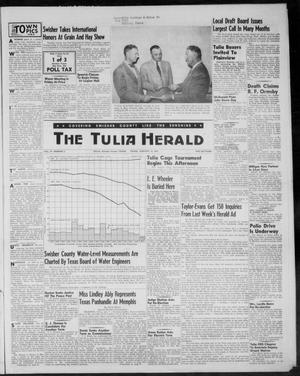 Primary view of object titled 'The Tulia Herald (Tulia, Tex), Vol. 47, No. 2, Ed. 1, Thursday, January 14, 1954'.