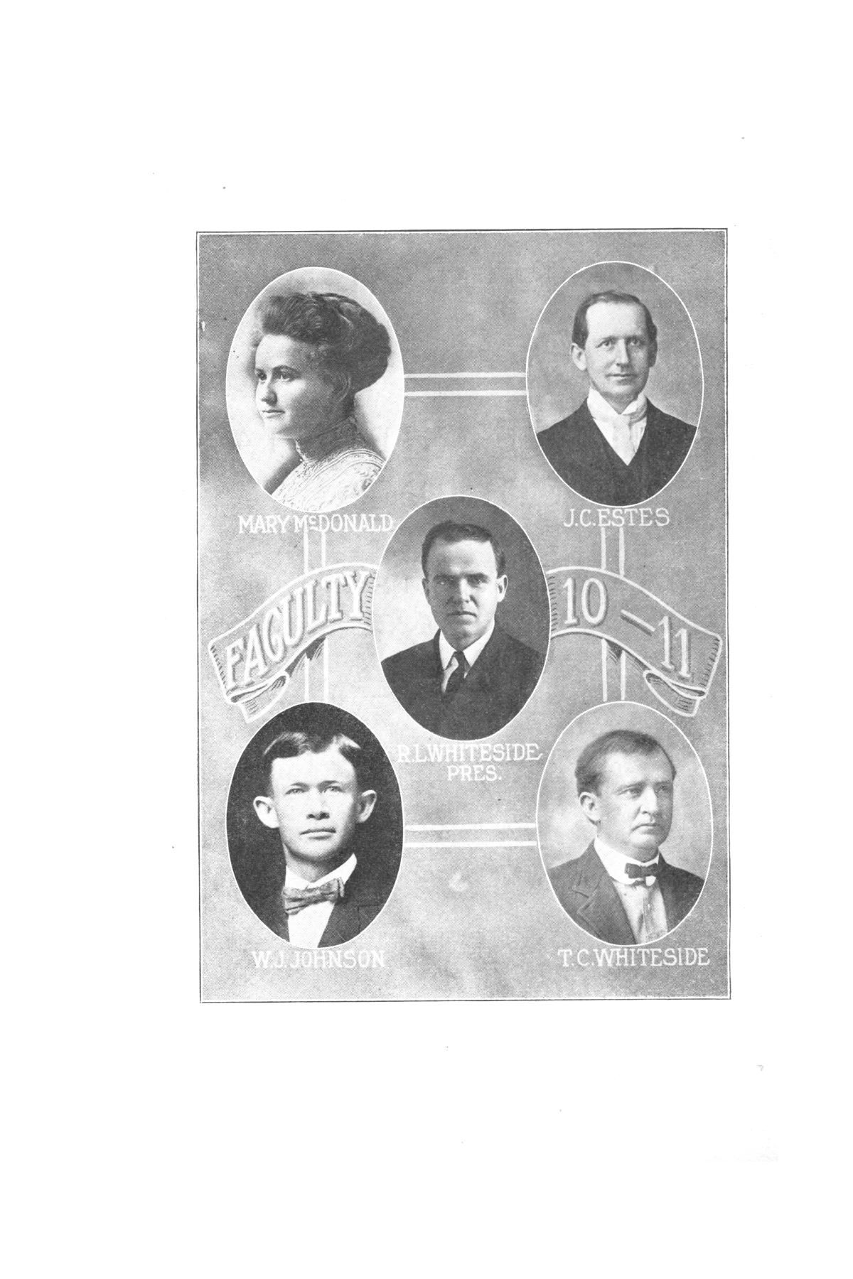 Catalog of Abilene Christian College, 1910-1911                                                                                                      [Sequence #]: 4 of 25