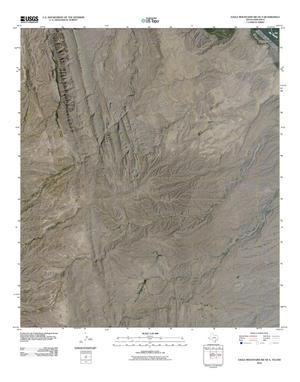Primary view of object titled 'Eagle Mountains SW OE S Quadrangle'.