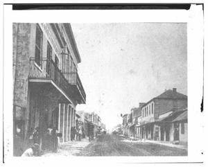 Primary view of object titled '[A View of Commerce Street ]'.