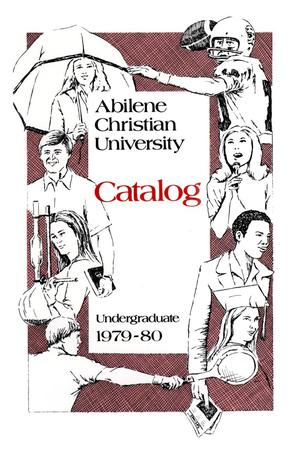 Primary view of object titled 'Catalog of Abilene Christian University, 1979-1980'.
