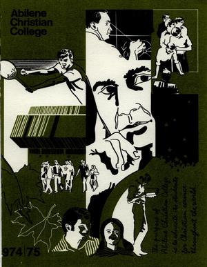 Primary view of object titled 'Catalog of Abilene Christian College, 1974-1975'.
