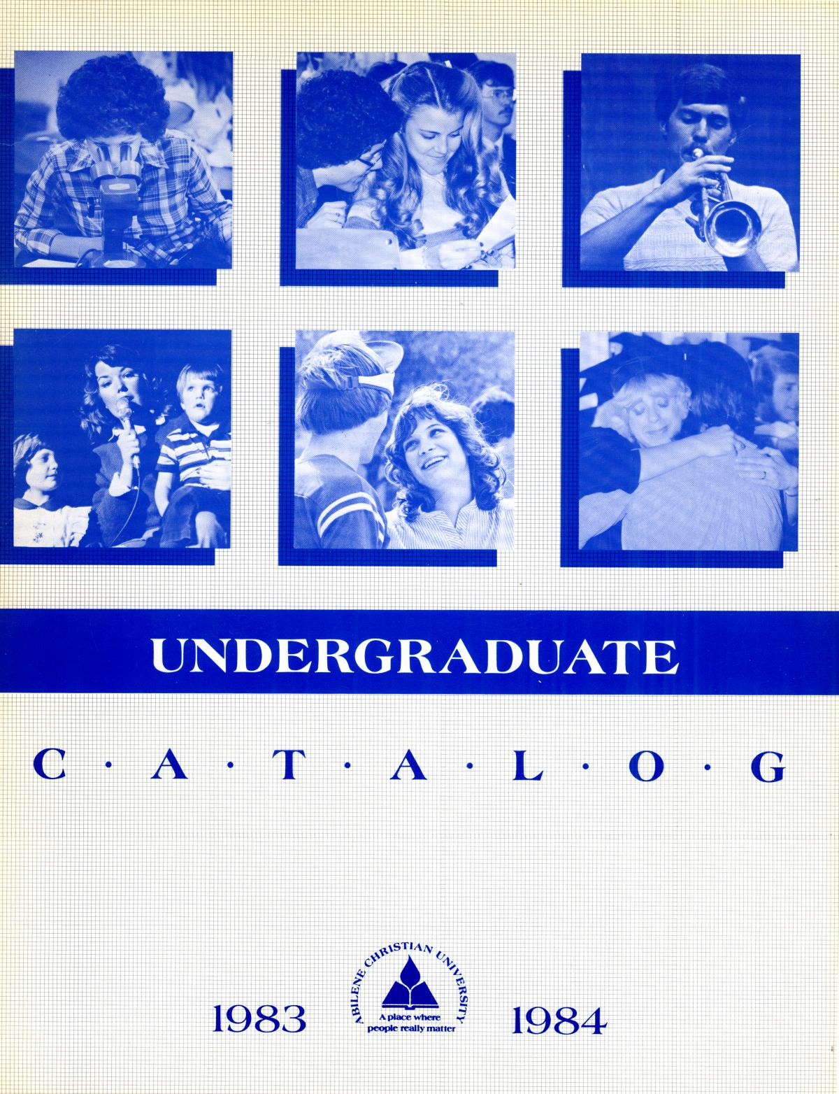 Catalog of Abilene Christian University, 1983-1984                                                                                                      Front Cover
