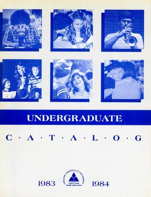 Primary view of object titled 'Catalog of Abilene Christian University, 1983-1984'.