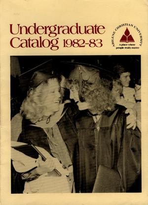 Primary view of object titled 'Catalog of Abilene Christian University, 1982-1983'.