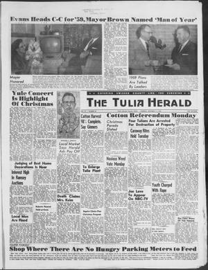 Primary view of object titled 'The Tulia Herald (Tulia, Tex), Vol. 49, No. 50, Ed. 1, Thursday, December 11, 1958'.
