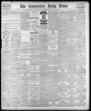 Primary view of object titled 'The Galveston Daily News. (Galveston, Tex.), Vol. 41, No. 233, Ed. 1 Tuesday, December 19, 1882'.