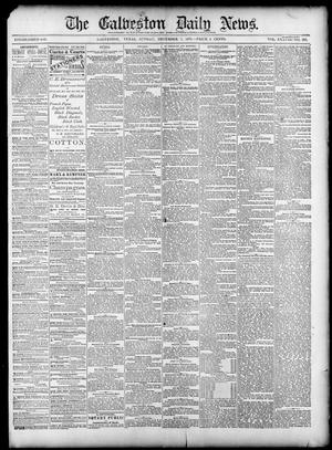 Primary view of object titled 'The Galveston Daily News. (Galveston, Tex.), Vol. 38, No. 223, Ed. 1 Sunday, December 7, 1879'.
