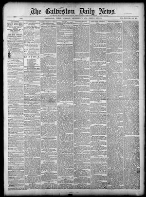 Primary view of object titled 'The Galveston Daily News. (Galveston, Tex.), Vol. 38, No. 218, Ed. 1 Tuesday, December 2, 1879'.
