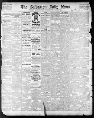Primary view of object titled 'The Galveston Daily News. (Galveston, Tex.), Vol. 42, No. 195, Ed. 1 Wednesday, October 3, 1883'.