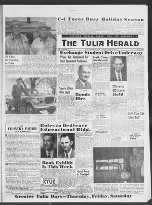 Primary view of object titled 'The Tulia Herald (Tulia, Tex), Vol. 49, No. 47, Ed. 1, Thursday, November 20, 1958'.