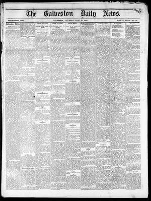 Primary view of object titled 'The Galveston Daily News. (Galveston, Tex.), Vol. 34, No. 136, Ed. 1 Saturday, June 13, 1874'.