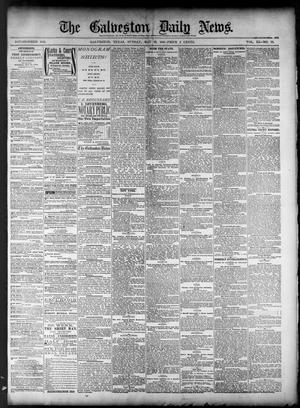 Primary view of object titled 'The Galveston Daily News. (Galveston, Tex.), Vol. 40, No. 52, Ed. 1 Sunday, May 22, 1881'.
