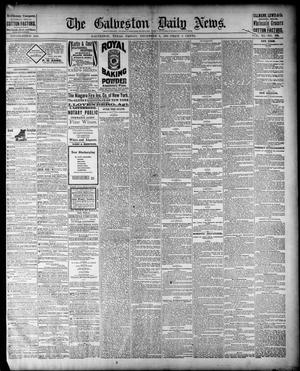 Primary view of object titled 'The Galveston Daily News. (Galveston, Tex.), Vol. 40, No. 224, Ed. 1 Friday, December 9, 1881'.