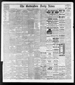 Primary view of object titled 'The Galveston Daily News. (Galveston, Tex.), Vol. 36, No. 236, Ed. 1 Sunday, December 23, 1877'.