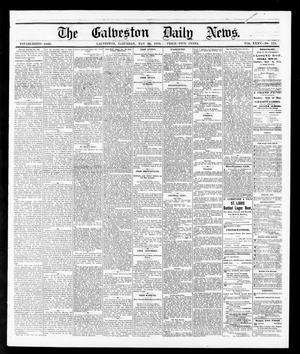Primary view of object titled 'The Galveston Daily News. (Galveston, Tex.), Vol. 35, No. 115, Ed. 1 Saturday, May 22, 1875'.