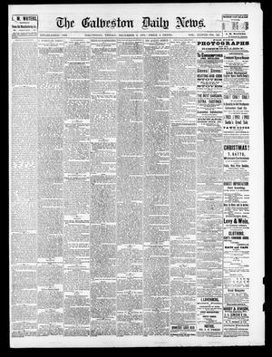 Primary view of object titled 'The Galveston Daily News. (Galveston, Tex.), Vol. 37, No. 221, Ed. 1 Friday, December 6, 1878'.