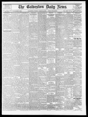 Primary view of The Galveston Daily News. (Galveston, Tex.), Vol. 35, No. 64, Ed. 1 Tuesday, March 23, 1875