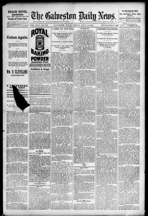 Primary view of object titled 'The Galveston Daily News. (Galveston, Tex.), Vol. 44, No. 349, Ed. 1 Friday, April 9, 1886'.