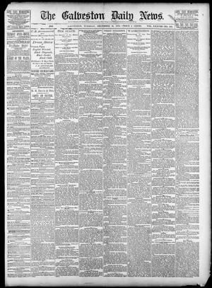 Primary view of object titled 'The Galveston Daily News. (Galveston, Tex.), Vol. 38, No. 230, Ed. 1 Tuesday, December 16, 1879'.