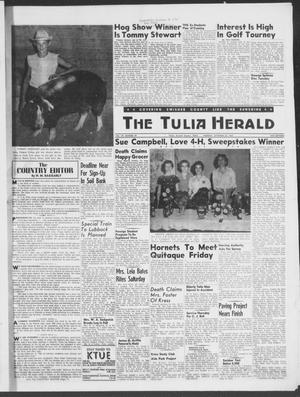 The Tulia Herald (Tulia, Tex), Vol. 49, No. 39, Ed. 1, Thursday, September 25, 1958