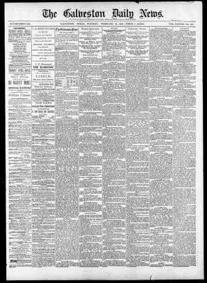 Primary view of object titled 'The Galveston Daily News. (Galveston, Tex.), Vol. 38, No. 278, Ed. 1 Tuesday, February 10, 1880'.