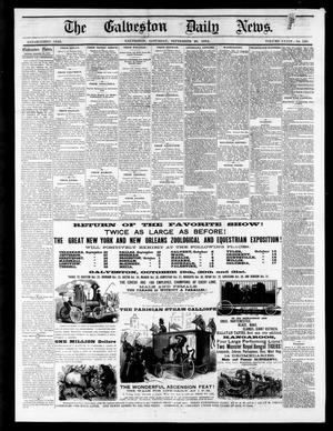 Primary view of object titled 'The Galveston Daily News. (Galveston, Tex.), Vol. 34, No. 226, Ed. 1 Saturday, September 26, 1874'.