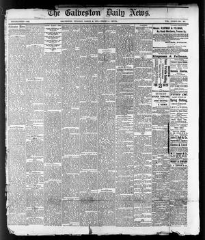Primary view of object titled 'The Galveston Daily News. (Galveston, Tex.), Vol. 36, No. 297, Ed. 1 Monday, March 4, 1878'.