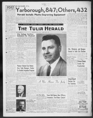 Primary view of object titled 'The Tulia Herald (Tulia, Tex), Vol. 48, No. 13, Ed. 1, Thursday, April 4, 1957'.