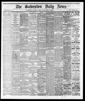 Primary view of object titled 'The Galveston Daily News. (Galveston, Tex.), Vol. 36, No. 25, Ed. 1 Saturday, April 21, 1877'.