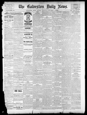 Primary view of object titled 'The Galveston Daily News. (Galveston, Tex.), Vol. 42, No. 158, Ed. 1 Monday, August 27, 1883'.