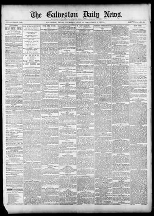 Primary view of object titled 'The Galveston Daily News. (Galveston, Tex.), Vol. 39, No. 98, Ed. 1 Thursday, July 15, 1880'.