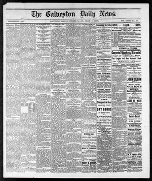 Primary view of object titled 'The Galveston Daily News. (Galveston, Tex.), Vol. 36, No. 188, Ed. 1 Sunday, October 28, 1877'.