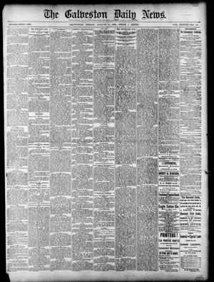 Primary view of object titled 'The Galveston Daily News. (Galveston, Tex.), Vol. 38, No. 124, Ed. 1 Friday, August 15, 1879'.