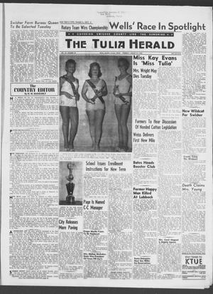 Primary view of object titled 'The Tulia Herald (Tulia, Tex), Vol. 49, No. 35, Ed. 1, Thursday, August 21, 1958'.