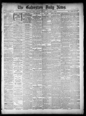 Primary view of object titled 'The Galveston Daily News. (Galveston, Tex.), Vol. 39, No. 249, Ed. 1 Friday, January 7, 1881'.