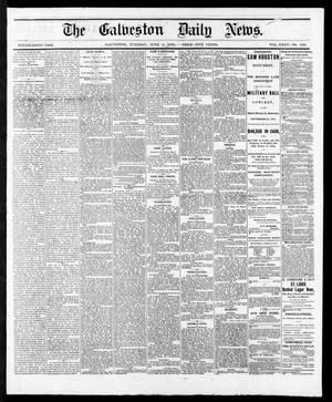 Primary view of object titled 'The Galveston Daily News. (Galveston, Tex.), Vol. 35, No. 129, Ed. 1 Tuesday, June 8, 1875'.
