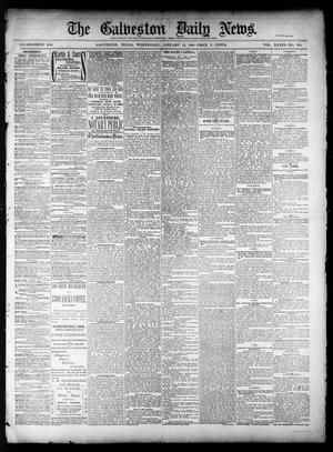 Primary view of object titled 'The Galveston Daily News. (Galveston, Tex.), Vol. 39, No. 253, Ed. 1 Wednesday, January 12, 1881'.