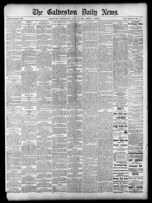Primary view of object titled 'The Galveston Daily News. (Galveston, Tex.), Vol. 38, No. 110, Ed. 1 Wednesday, July 30, 1879'.
